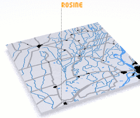 3d view of Rosine