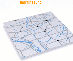 3d view of Martinsburg