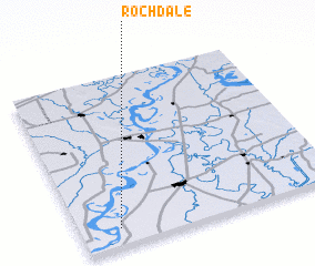 3d view of Rochdale