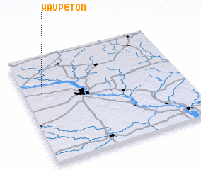 3d view of Waupeton