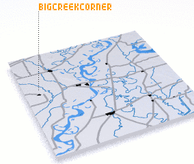 3d view of Big Creek Corner