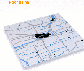 3d view of Massillon