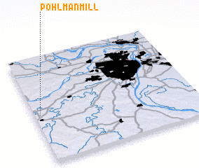3d view of Pohlman Mill