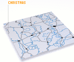 3d view of Christmas