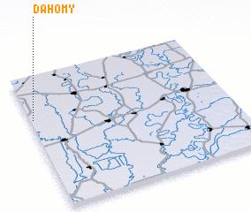 3d view of Dahomy