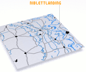 3d view of Niblett Landing