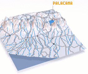 3d view of Palacamá