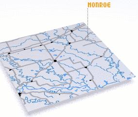 3d view of Monroe