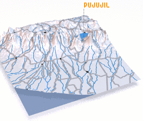 3d view of Pujujil