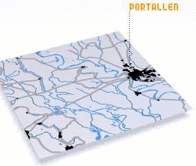 3d view of Port Allen