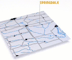 3d view of Springdale