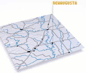 3d view of New Augusta