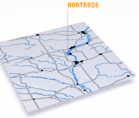 3d view of Montrose