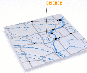 3d view of Bricker