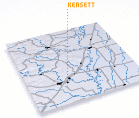 3d view of Kensett