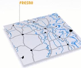 3d view of Fresno