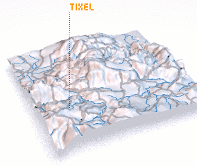 3d view of Tixel