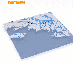 3d view of Santiague