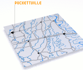 3d view of Puckettville