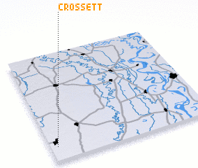 3d view of Crossett