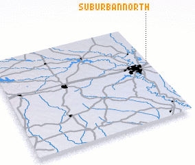 3d view of Suburban North