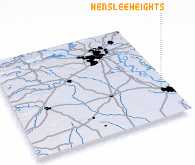 3d view of Henslee Heights