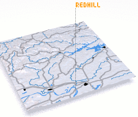 3d view of Red Hill