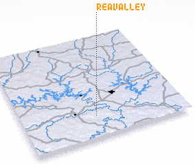 3d view of Rea Valley