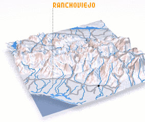 3d view of Rancho Viejo