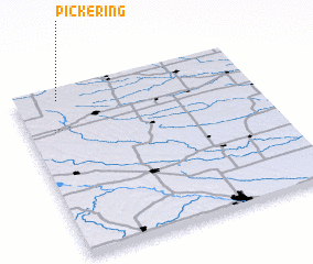 3d view of Pickering
