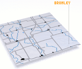 3d view of Bromley