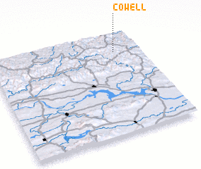 3d view of Cowell