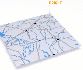 3d view of Bright