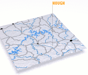 3d view of Hough
