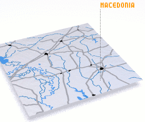3d view of Macedonia