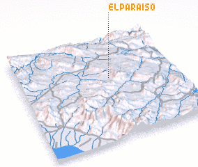 3d view of El Paraíso