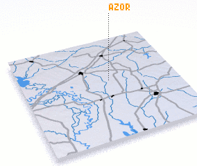 3d view of Azor