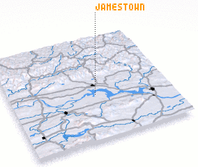 3d view of Jamestown