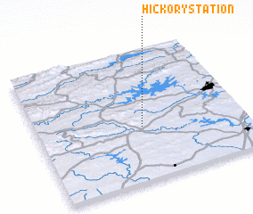 3d view of Hickory Station