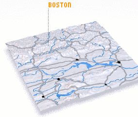3d view of Boston