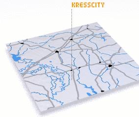 3d view of Kress City