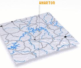 3d view of Wharton