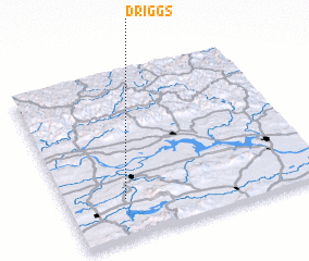3d view of Driggs
