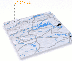 3d view of Union Hill