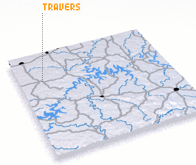 3d view of Travers