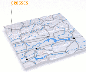 3d view of Crosses