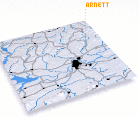 3d view of Arnett
