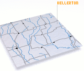 3d view of Kellerton