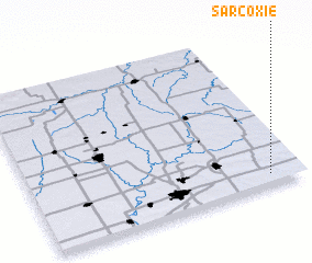 3d view of Sarcoxie
