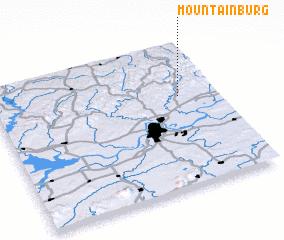 3d view of Mountainburg